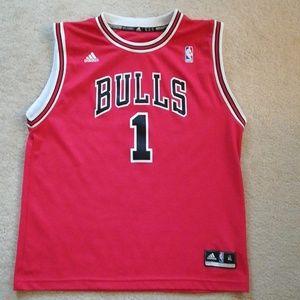 XL Bulls Derrick Rose Jersey